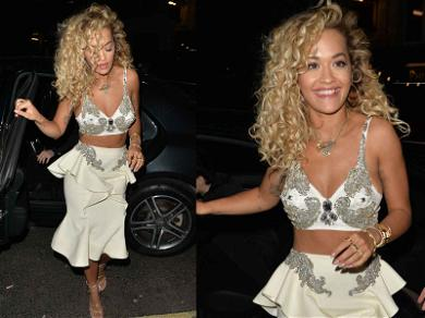 Rita Ora Has a Night of Award Winning Fashion