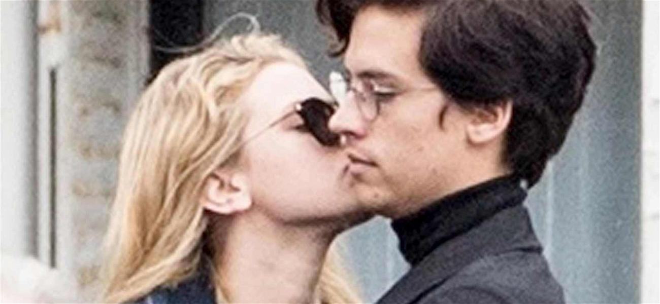 'Riverdale' Stars Lili Reinhart and Cole Sprouse Caught Kissing!
