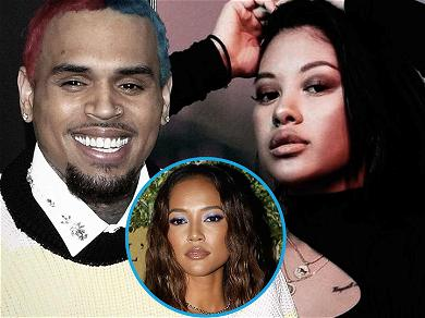 Chris Brown Slides Into Baby Mama Ammika Harris' Comments After Karrueche Tran Drama