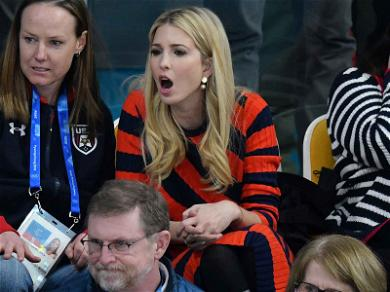 Ivanka Trump Cheers On USA Curling During Gold Medal Sweep