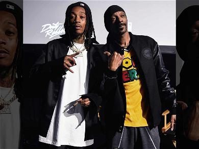 Wiz Khalifa Lights Up With Snoop Dogg For 'Behind The Cam' Premiere