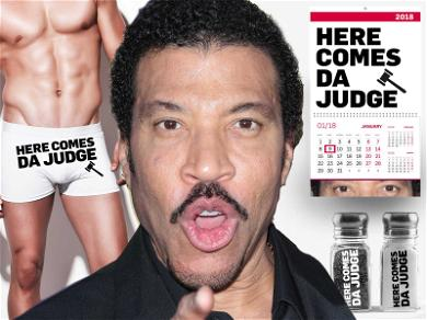 Lionel Richie Cashing In on 'American Idol' Themed Undies, Candles, Shot Glasses