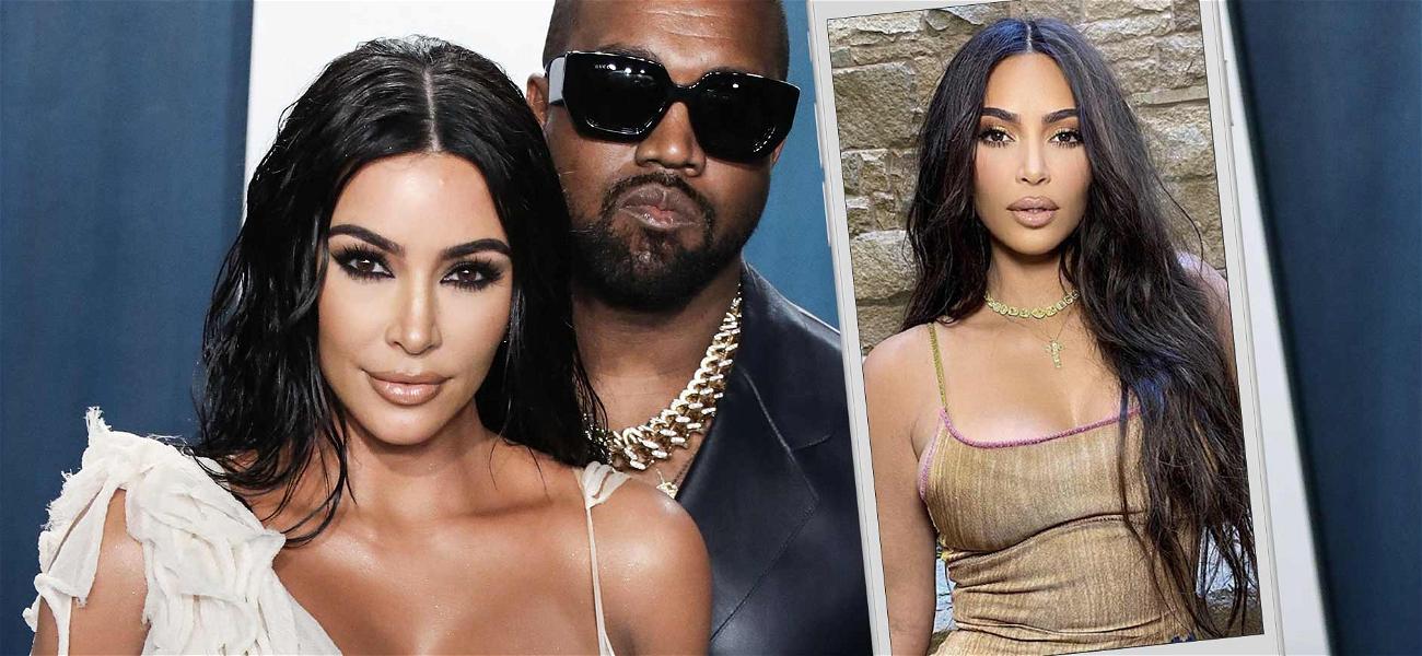Kim Kardashian Back To Sharing Sexy Snaps Amid Kanye West Divorce Rumors