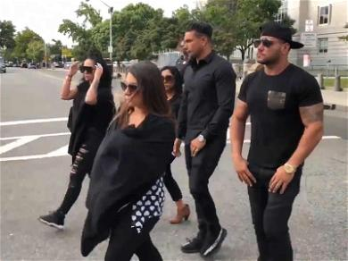 'Jersey Shore' Cast Shows Up as The Situation Gets Sentenced to 8 Months in Prison (UPDATE)