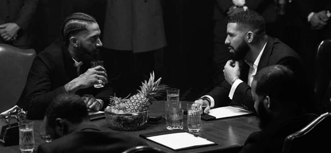 Drake Pours One Out for Nipsey Hussle Before London Show