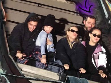 Bella Hadid Serves Major Face at Disneyland Paris