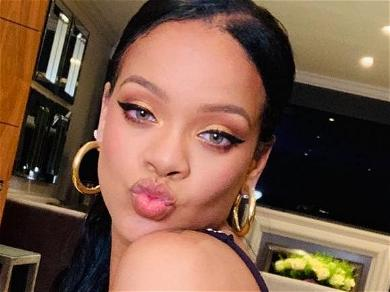 Rihanna Takes Out The Trash In Her Underwear