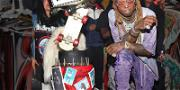 Lil Wayne's 36th Birthday Bash Included the GOAT & a Goat