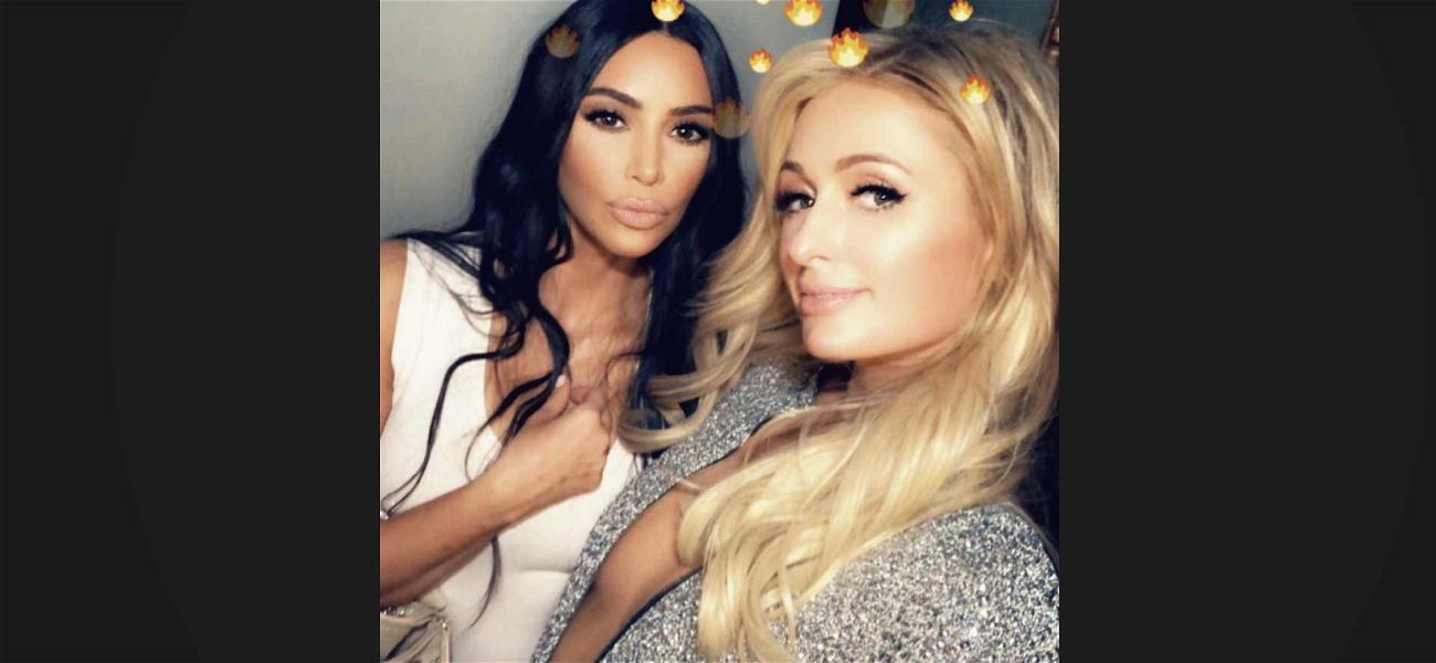 Kim Kardashian Celebrates Paris Hilton's Birthday With Belated Bash