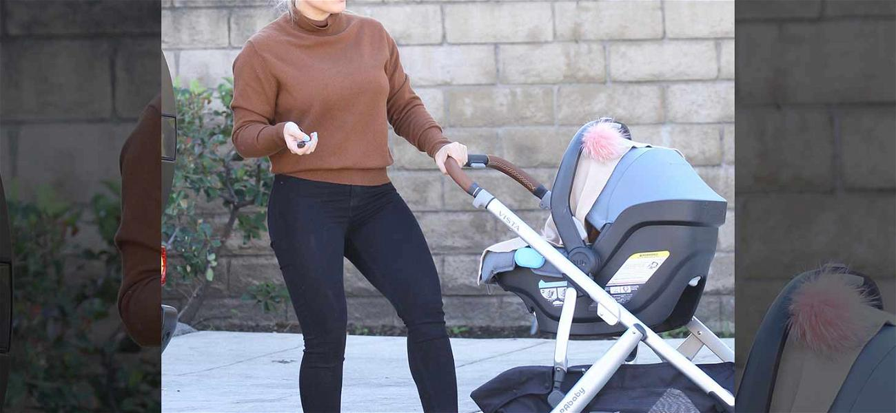 Hilary Duff is One Hot Mama While Out With New Baby