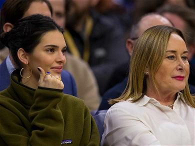 Kendall Jenner Cheers on Ben Simmons While Sitting Courtside With His Mom!