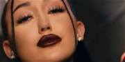 Noah Cyrus Sensually Touches Herself In Black Leather & Fishnets For 'All Three' Music Video
