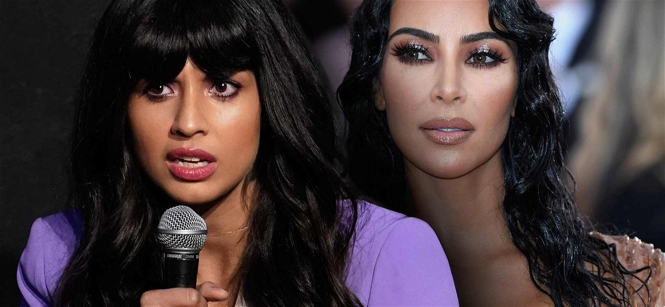 'Good Place' Star Jameela Jamil Slams Kim Kardashian's Body Makeup: 'This is a Nightmare'