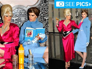 'Melania and Ivana Trump' Peddling Vodka in Sexy Photo Shoot