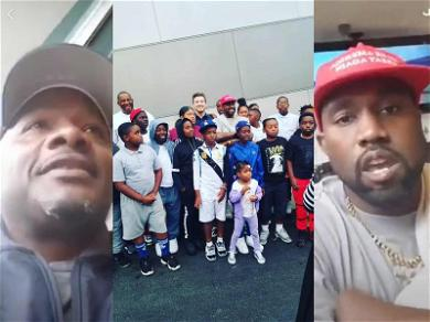 Kanye West Meets With L.A. Community Leader Big U About Giving Back to Inner-City Kids