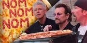 U2 Wants Pizza With or Without You