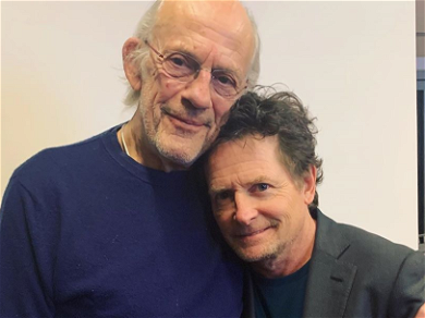 'Back To The Future' Stars Michael J. Fox And Christopher Lloyd Reunite — See The Epic Photos!
