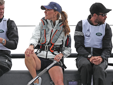 Kate Middleton Exposed Her Royal Legs for the First Time In 10 Years