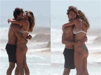 Nina Agdal and Jack Brinkley-Cook Pack on PDA in Mexico