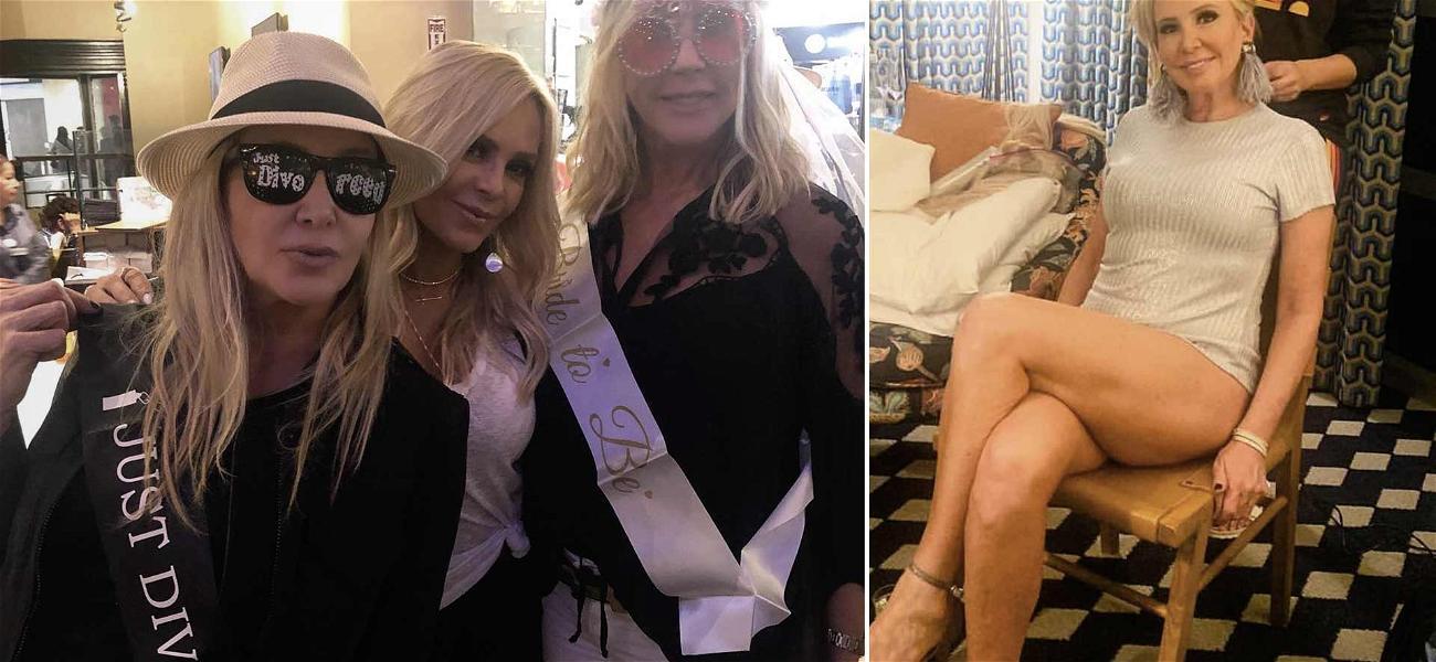 'RHOC' Star Shannon Beador Bares Major Skin While Celebrating Her 'Just Divorced' Status in Miami