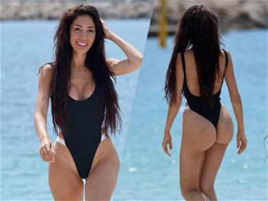 Farrah Abraham's Swimsuit Cannes Barely Contain Her Designer Vagina
