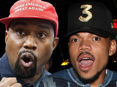 Kanye West Shouts In Chance The Rapper's Face In Newly Leaked Footage