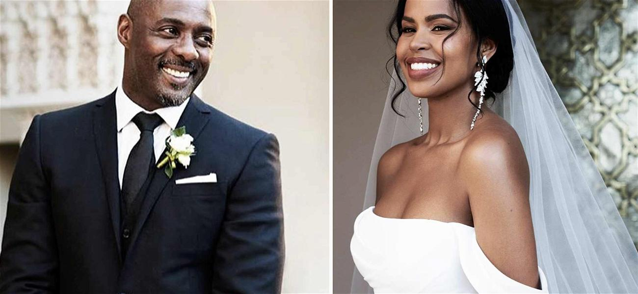 Idris Elba Weds Model Sabrina Dhowre in Morocco!