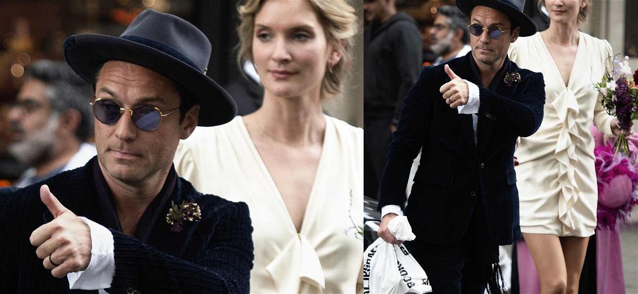Jude Law Marries Girlfriend Phillipa Coan in Secret Ceremony