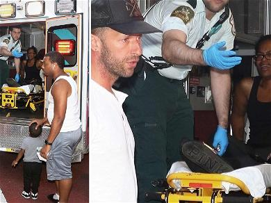 Chris Martin & Dakota Johnson's Driver Allegedly Runs Over Woman's Foot