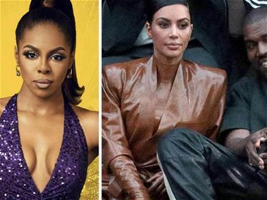 'RHOP' Star Candiace Dillard Apologizes To Kim Kardashian For Kanye West Remarks