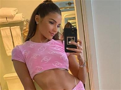 Olivia Culpo Shows Off MIND-BLOWING Body In Barbie Girl Two-Piece