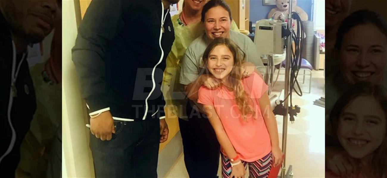 Nelly Sings Christmas Carols With Kids During Visits to Children's Hospitals