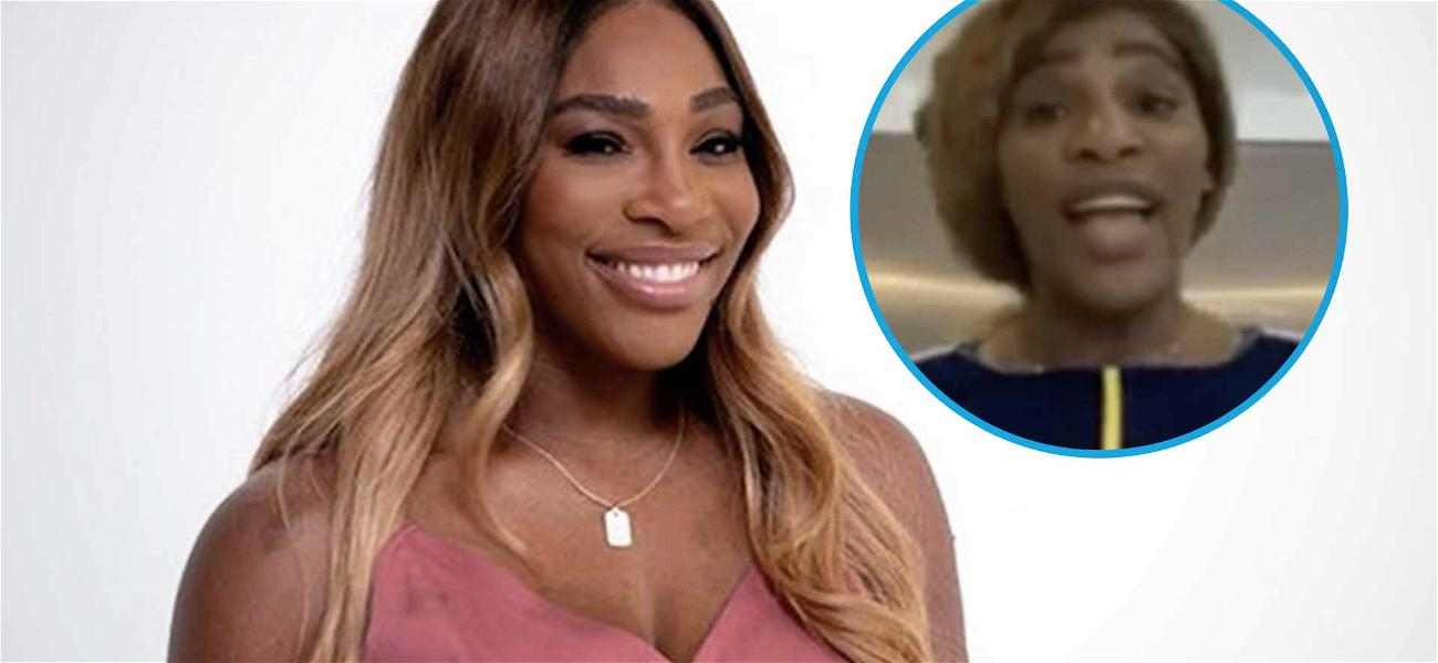 Serena Williams Bursts Out Of Tiny Disney Dress: It 'Doesn't Fit'
