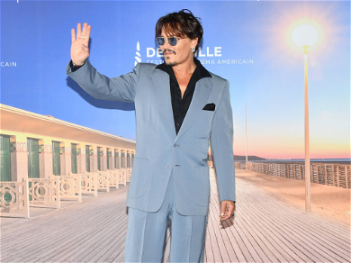 Johnny Depp Greets Fans in France for New Movie During Amber Heard Drama
