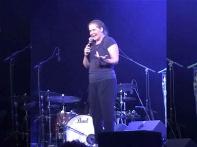 Amy Schumer Surprises Concert Crowd with Standup Set in New York