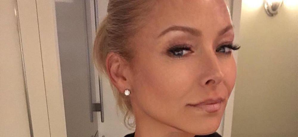 Kelly Ripa Unfussed After Exposing Thong Wardrobe Malfunction