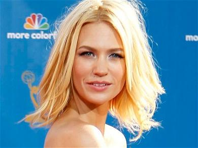 January Jones Addresses 'Desperate' Photos In Bikini With Frosted Flakes