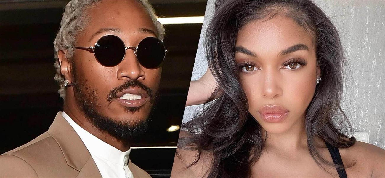 Future's Girlfriend Lori Harvey Pretty In Pink While Locked Up With Rapper