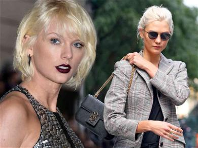 Taylor Swift Gives Karlie Kloss 'Blank Space' On New TV Show