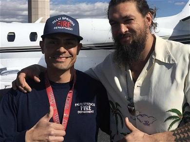 Jason Momoa's Private Jet Makes Emergency Landing in Palm Springs After Suspected Engine Fire