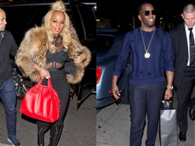 Diddy Bought Mary J. Blige a Fancy Birthday Present and We Need to Know What It Is