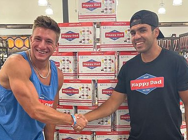 'Happy Dad' Takes Over California, NELK Boys Officially Debut Hard Seltzer