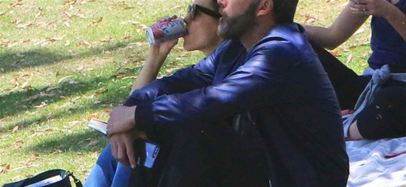 Jennifer Garner and Ben Affleck Kick Back at Their Son's Little League Game