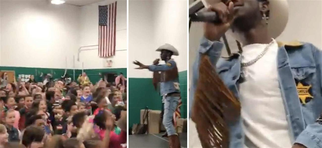 Lil Nas X Surprises 5th Graders at Elementary School With 'Old Town Road' Performance