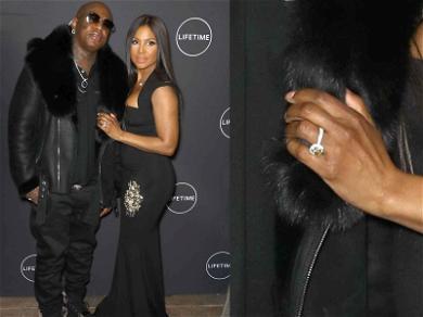 Toni Braxton Rocks Gigantic Diamond Ring With Birdman