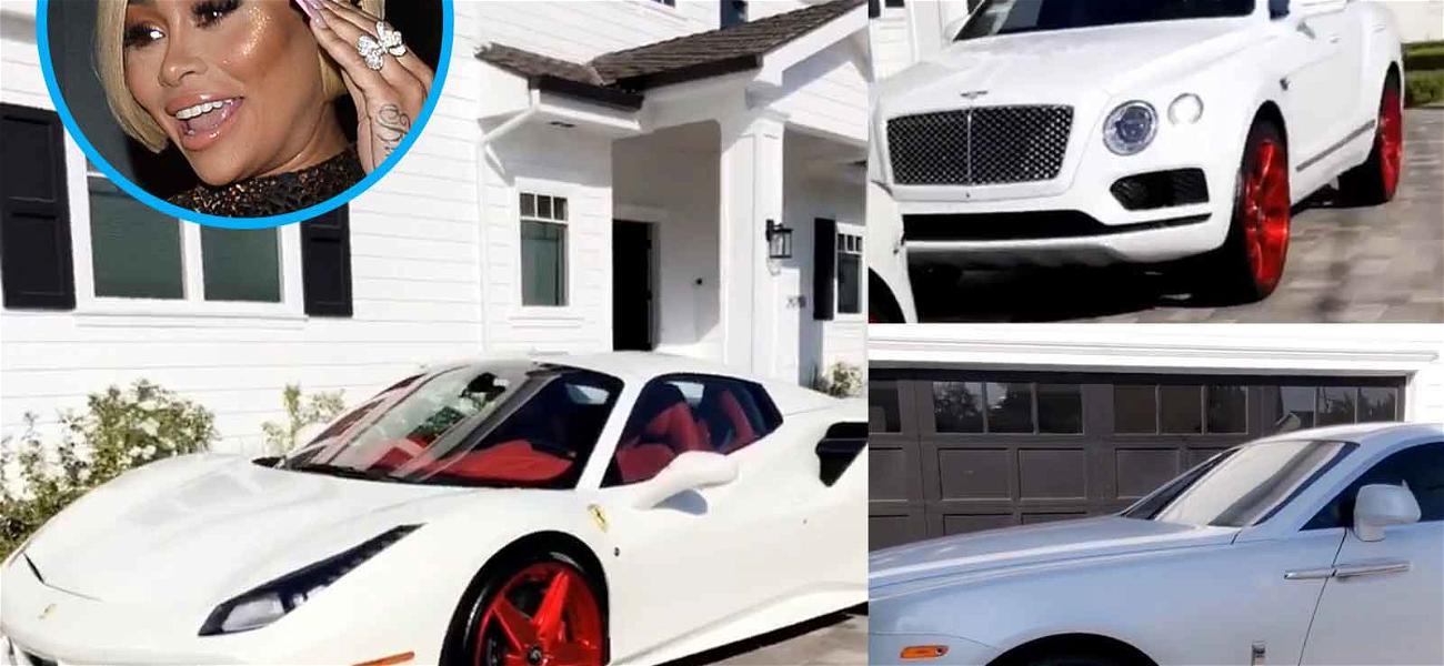 Blac Chyna Trolls Rob Kardashian During Child Support Battle With Fleet of Custom Cars