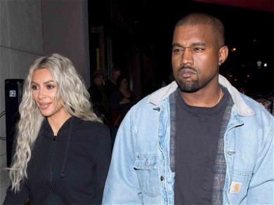 Kim Kardashian Jumps into Kanye West Twitter Storm with 'KUWTK' Joke