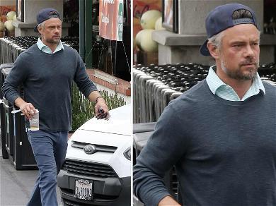 Josh Duhamel Spotted for First Time Since Fergie Filed for Divorce
