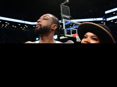 Dwyane Wade Thanks Wife Gabrielle Union, LeBron James, and Kobe Bryant at Emotional Jersey Retirement