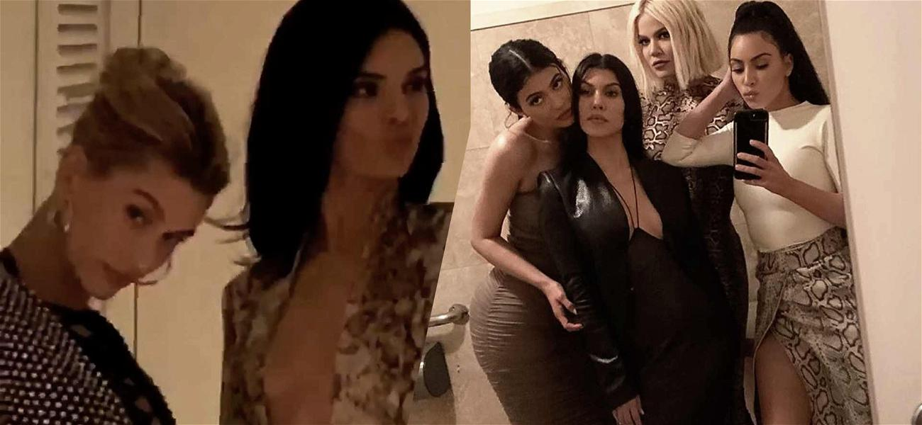 KarJenner Sisters Have Girls' Night Out on Two Different Coasts
